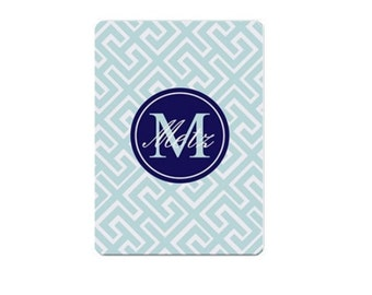 SALE-Monogrammed Playing Cards - Mix and Match design