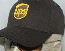 UPS Service Hat Mail Man Men In Brown MIB Work Company Uniform Souvenier Man Party Plumber Gear Role Play Pleasure