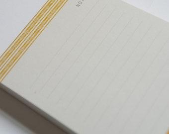 Kobe Bear Notepad