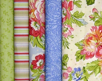 FABRIC Pack 5 x fabric 50 cm x 50 cm