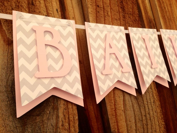 Items Similar To Name Banner Bridal Shower Banner Baby