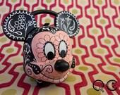 Mickey Mouse Lunch Pail. -  Día de los Muertos - Day of the Dead