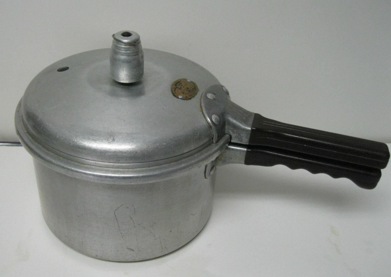 Vintage Presto Pressure Cooker Model 60 4 By
