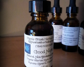 Good Night Tincture - All Natural Sleep Aid for Insomnia or Interrupted Sleeping