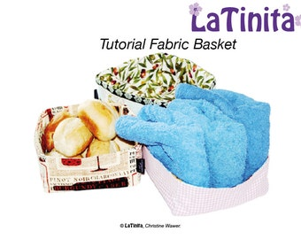 PDF Ebook Tutorial Fabric Basket