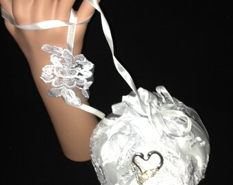 Lace Purse, Bridal Purse, Baptismal Purse, Wedding Bags, Special Event Purse, White Lace Purse