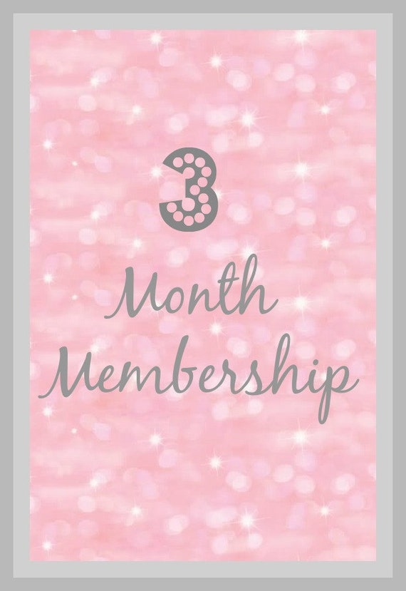 Baby Gift Of The Month Club : Month headband of the club three months