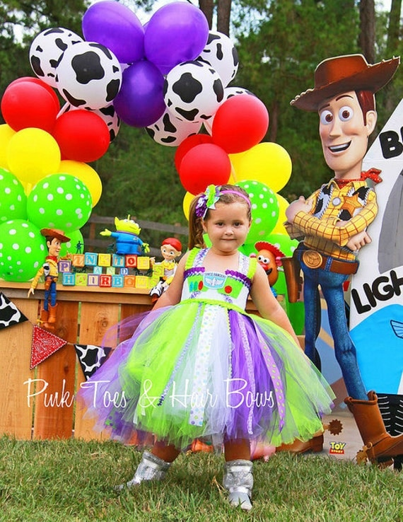 Toy Story Buzz Lightyear Tutu Dress available via GlitterMeBaby