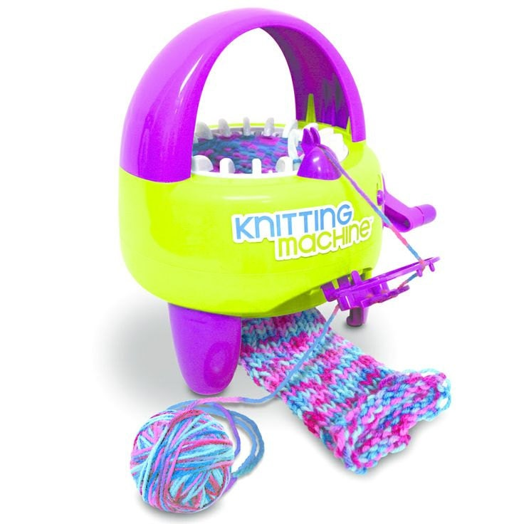 how to use a knitting machine instructions