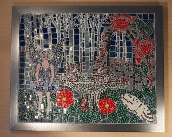 Enchanted Garden Mosaic Picture