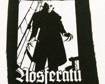 NOSFERATU patch punk horror vampire dracula  Free Shipping