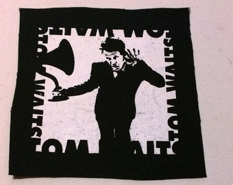 TOM WAITS  patch outlaw punk  Free Shipping