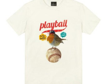 Baseball T Shirts Graphic Tees for Men Crew Neck T Shirt S M L XL XXL 433