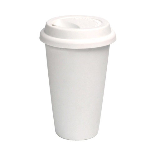 100 12 Oz White Paper Hot Paper Coffee Cups And Lids