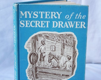 Mystery of the Secret Drawer by Helen Fuller Orton - Vintage Library Book - Fiction - Copyright 1945 - Seventeenth Printing