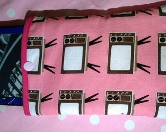Riley Blake Televisions Fabric Kindle Case/Sleeve