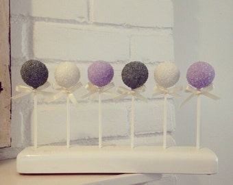 24 sugar crystal Cake Pops