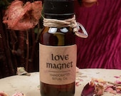 LOVE MAGNET OIL - Attract New Friendships & Romantic Partners with this Attract Love Ritual Oil - Handcrafted by Moonlight Magic Wicca Pagan