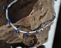 Sapphire Necklace Briolette (JK 624)