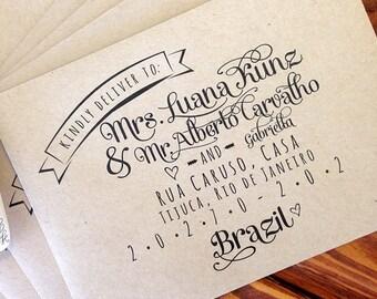 Beautiful Custom Printed Envelopes