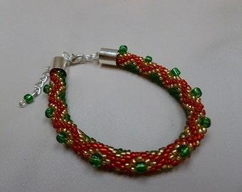 Hopscotch - beads bracelet