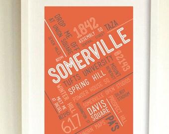 SOMERVILLE // Art Print