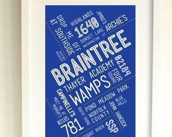 BRAINTREE // Art Print