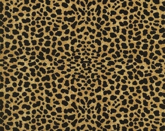 RJR Fabrics Dan Morris Goin' Wild 1539 01 Cheetah Skin Beige By the Yard
