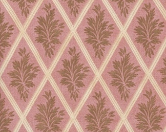 Windham Fabrics Seville 31624 Leaf in Rose Diamonds by the Yard