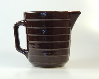 Vintage Western Stoneware Pitcher