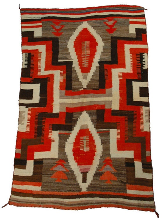 Large Antique Navajo American Indian By Quintessentialiving
