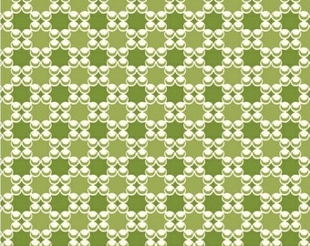 Modern Quilt Fabric, Downtown Fabric, LB Krueger,Geometric Fabric, Green Fabric, Windham Fabrics, Quilt Cotton, Fabric by the yard,