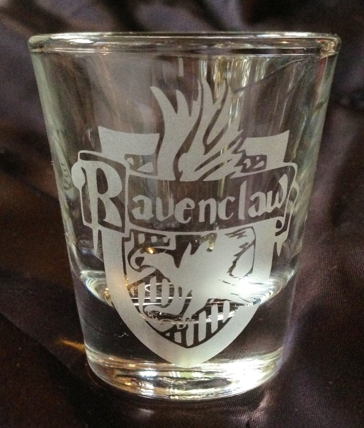 Harry Potter Ravenclaw Inspired Custom Etched Shot Glass