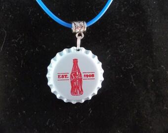 Soda Bottle Cap Necklace