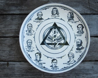 History of Dentistry Commemorative Plate