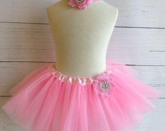 Light Pink Baby Tutu Set