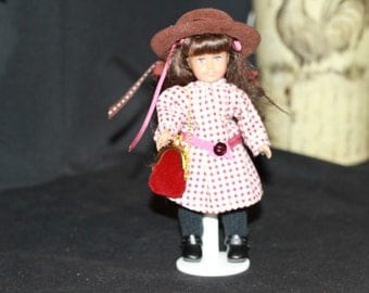 Mini Victorian 6 inch doll Outfit