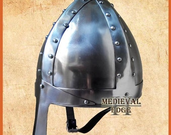 norman helmet ancient wearable re-enactment larp role-play theatre Helmets