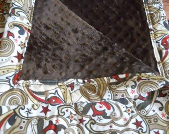 Swirl Buckarro Blanket