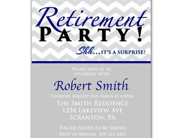 Printable Retirement Invitations as best invitation layout