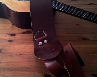 Leather belt for Guitar