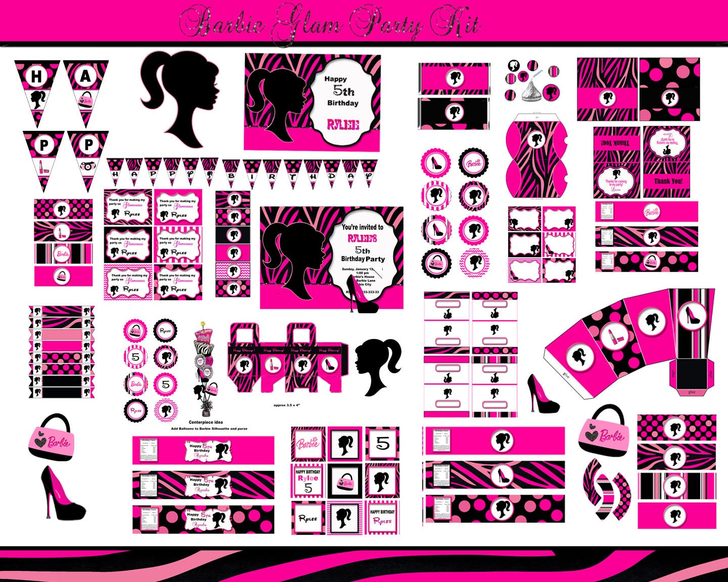 Pics For gt Barbie Doll Printables