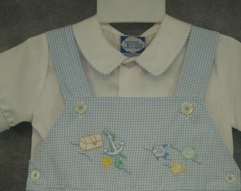 Baby blue outfit Sizes 12mos - 18mos