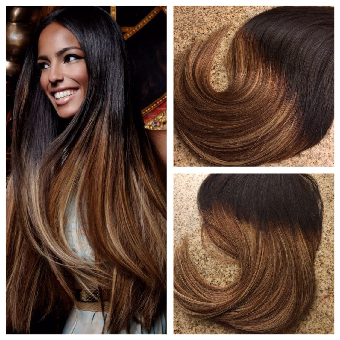 5 star ombre balayage cuticle remy human hair keratin fusion zoom pmusecretfo Images
