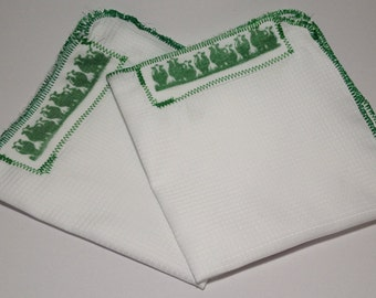 The Green Turf Pocket Square