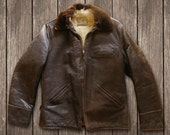 vintage 40s horsehide leather jacket by Goodgal