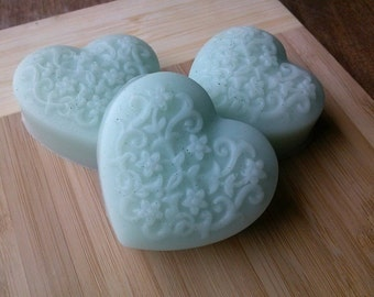 Lily of the Valley Glycerin Heart Soap - Vegan