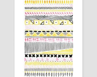 "Art Print ""folklore No.14"""