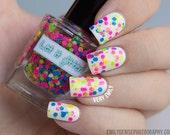 Glitter nagellak - Neon Matteness