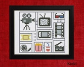 Cross Stitch Pattern For movie fans Instant Download